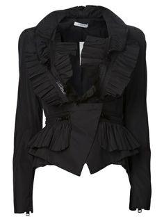 GIVENCHY Zip Taffeta Jacket