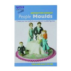 PME PEOPLE MOULD BOOK Cake Decorating Books, Booklet, Baking, People, Bread Making, Patisserie, Backen, Bread, People Illustration