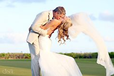 Destination Wedding in Mexico at the Fairmont Mayakoba, pure romance!  Mexico wedding photographers Del Sol Photography