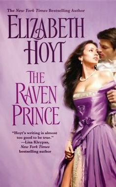 """Sarah stayed up until 3 a.m. reading on Wednesday because she couldn't put down """"The Raven Prince."""" If you enjoy historical romance, check out her review on the library's blog: http://carnegiestout.blogspot.com/2014/04/staff-review-raven-prince-by-elizabeth.html"""
