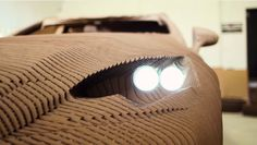 This New Luxury Car is Made Entirely out of Cardboard - Luxury auto makers Lexus this week unveiled their latest concept car: A working replica of the Japanese company's IS model, made entirely out of precisely measured cardboard.