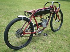 photo by ICrazyhorse Bicycle Engine Kit, Motorised Bike, Motorized Bicycle, Pit Bike, Motorcycle Bike, Vintage Motorcycles, Bobber, Motorbikes, American Pickers