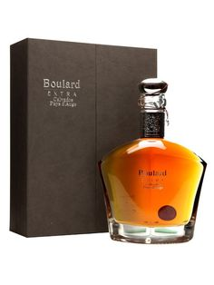 A bottle of Boulard's Extra Calvados. This expression was certainly not rushed, it took seven years of selection and blending by the Cellar Master before they were happy to release it.  This is a r...