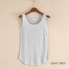 c17d156df504 Casual Cotton Tank Tops For Women!! Great for running, yoga or just working