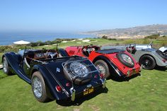 Automobiles and Ocean Views