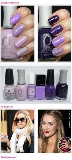 How to DIY Ombre nail art - Νυχια μια ombre χρώμα