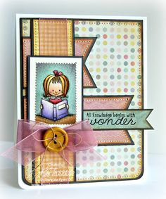 Using the Believe in You set by There She Goes Clear Stamps