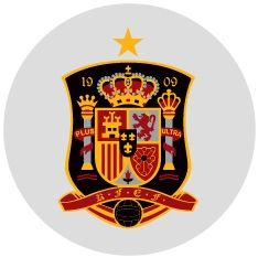 This is a little tribute to Spain football team. / The star means that the team won 1 time the world cup of football. Spain National Football Team, Spain Football, Spain Soccer, Bundesliga Logo, Football 2018, Football Team Logos, Football Soccer, Mundial Football, Football Football