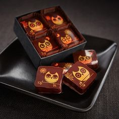 Recchiuti Confections Halloween Chocolate Box - Seasonal Holiday Gifts, Fine Chocolates from San Francisco