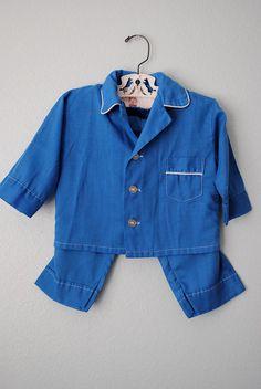 vintage toddler pajamas
