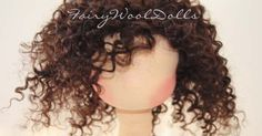 Mohair Weft Wig Tutorial from Fairy Wool Dolls Part IIWefted Mohair Wig Tutorial / Video-Crochet the weft into the cap.Here is a link to the wefted mohair wig tutorial I made. This is what you need: Mohair yarn to match your weft or wool (www.Fairywool Do Doll Wigs, Doll Hair, Diy Doll Wig, Diy Cabelo, Art Doll Tutorial, Wool Dolls, Rag Dolls, Doll Making Tutorials, Wig Making