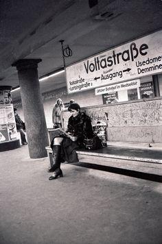 Berlin U-Bahn, 1970s.