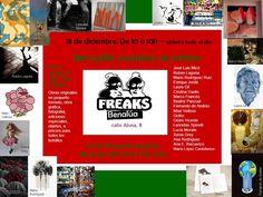 Mercadillo navideño de artistas 18 de diciembre 2014