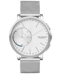 Skagen Connected Unisex Hagen Stainless Steel Hybrid Smart Watch 42mm SKT1100 - Silver