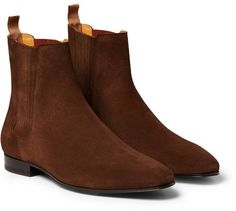 Pierre Hardy Brown Suede Drugstore Chelsea Boots | Men's Shoes | Pinterest  | Pierre hardy