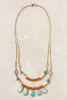 I want to know where anthro gets all their beads. I like the gray, yellow, and wood together.