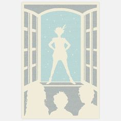 """PETER PAN!  To create his Litographs, Danny Fein constructs images out of nano-scale text from classic works of literature, and in most cases, the entire book is printed on a 24""""x36"""" piece of paper. For each print you purchase, one book is sent to a community in need through Litograph's partner, the International Book Bank. Again, so awesome."""