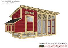 home garden plans: M101 - Chicken Coop Plans Construction - Chicken Coop Design - How To Build A Chicken Coop