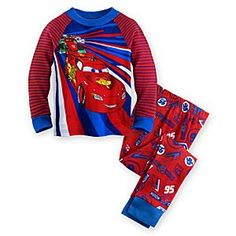 Disney Cars PJ PALS for Boys | Disney StoreCars PJ PALS for Boys - He'll be on track for dreams of becoming the World Grand Prix champion with this <i>Cars</i> PJ PALS for Boys. Lightning McQueen leads Francesco Bernoulli, and Shu Todoroki as they race across the front of these sporty pajamas.