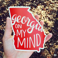 Show your state or college pride with this custom-designed matte-finish decal on your laptop, car or anywhere you can think of to stick it! Its