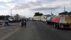 24 horas de bloqueo en Juchitán.