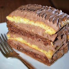 Торт «Неаполь» | Диета Дюкана Poke Cakes, Lava Cakes, Cupcake Cakes, Russian Desserts, Russian Recipes, Dukan Diet Recipes, Easy Cake Decorating, Creative Cakes, Yummy Cakes