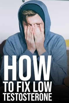 Are you suffering from low testosterone and want to fix this? You are in the right place and this article is for you! How to fix low testosterone. Testosterone Boosting Foods, Low Testosterone Symptoms, Natural Testosterone, Increase Testosterone Naturally, Increase Testosterone Levels, Testosterone Booster, Build Muscle Fast, Hormone Replacement Therapy, Weight Loss For Men