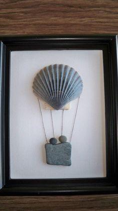 of the Best Creative DIY Ideas For Pebble Art Crafts - Steine - Welcome Haar Design Stone Crafts, Rock Crafts, Arts And Crafts, Art Crafts, Pebble Pictures, Art Diy, Rock And Pebbles, Seashell Art, Sea Glass Art