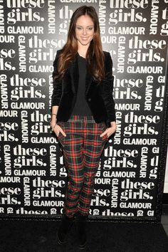 Coco Rocha at the These Girls party hosted by Glamour magazine in NYC