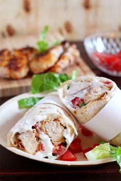 Chicken Ranch Wraps © KüchenDeern