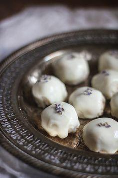 lavender petit-fours