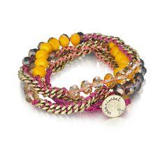 Click To Shop Bead + Chain Multi Wrap Bracelet $38. http://www.chloeandisabel.com/boutique/jennifermcdonald