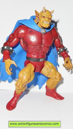 mattel toys action figures for sale to buy DC UNIVERSE Classics 2007 ETRIGAN the DEMON - wave 1 Metamorpho series 100% COMPLETE condition: excellent - displayed only/collector quality figure size: 6.5