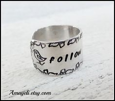 Follow your dreams ring $12