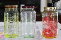 Yesterday Sydney and I had a major art and craft day, and also experimented with making glow jars. They have been floating around Pinterest for awhile now and look like so much fun! However,...
