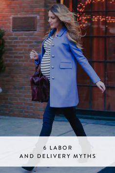 6 Labor and Delivery Myths All Moms-to-Be Should Get Straight via @PureWow