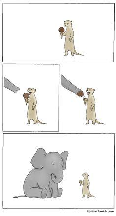 comic by Liz Climo!! Nawwww :(