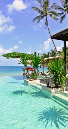 Pool… Jetsetter Daily Moment of Zen: Anantara Rasananda Resort in Koh Samui, Thailand Places Around The World, Oh The Places You'll Go, Places To Travel, Places To Visit, Around The Worlds, Vacation Destinations, Dream Vacations, Vacation Spots, Cruise Vacation