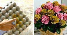 mikor-meglattam-ezeket-az-otleteket-a-szavam-is-elallt-nem-tudtam-hogy-ennyi-minden-keszitheto-tojastartokbol Cd Crafts, Diy Crafts Hacks, Decor Crafts, Diy And Crafts, Paper Crafts, Egg Crates, Unique Mehndi Designs, Paper Flowers Diy, Easy Home Decor