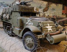 M3A1 Half-Truck by dunklerfruehling