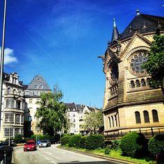 One of my favorite places in Germany.  Wiesbaden