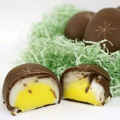 Homemade Cadbury Eggs and other Easter edibles! Much better than the store bought with all the preservatives