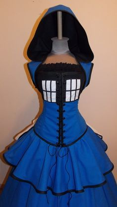 tardis gown; a halloween costume choice? #doctorwho