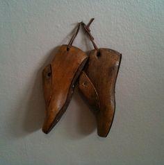Antique Wood Cobbler Shoe Forms.