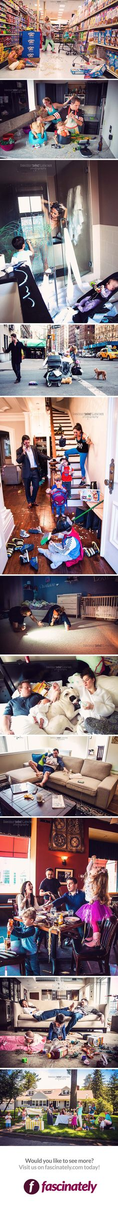 Photographer Reveals the True Chaos of What is Means to Be a Parent