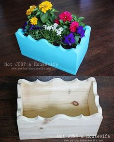 Build Your Own Planter Box! - Not JUST A Housewife