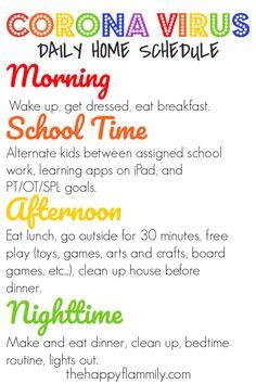 craft games for kids indoor activities Learning Apps, Kids Learning, Learning Activities, Daily Schedule Kids, Daily Schedules, Home School Schedule, Free Activities For Kids, School Routines, Up House