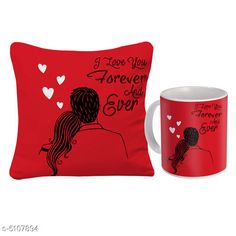 Checkout this latest Gift combos_500-1000 Product Name: *New Stylish Gift Mugs And Cushions *