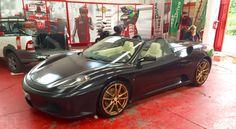 Ferrari 430 Cabrio CarPolish CarDetailing CarWash NoTouch