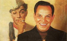 Mario Moreno (Sp/A), known professionally as Cantinflas, was a Mexican comic film actor, producer, and screenwriter.